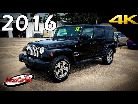 2016 Jeep Wrangler Unlimited Sahara - Ultimate In-Depth Look in 4K