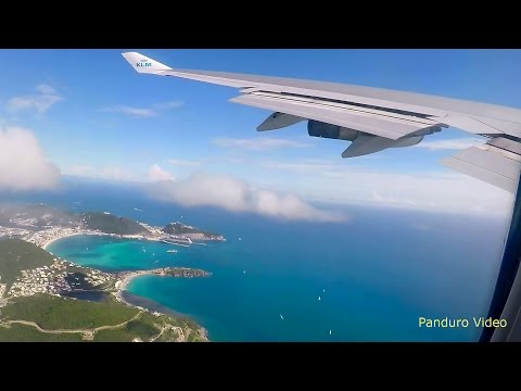 Flight St Maarten to Amsterdam via Cuacao (Seat 57A)