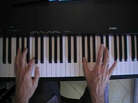 Oh what a Night   Piano Tutorial