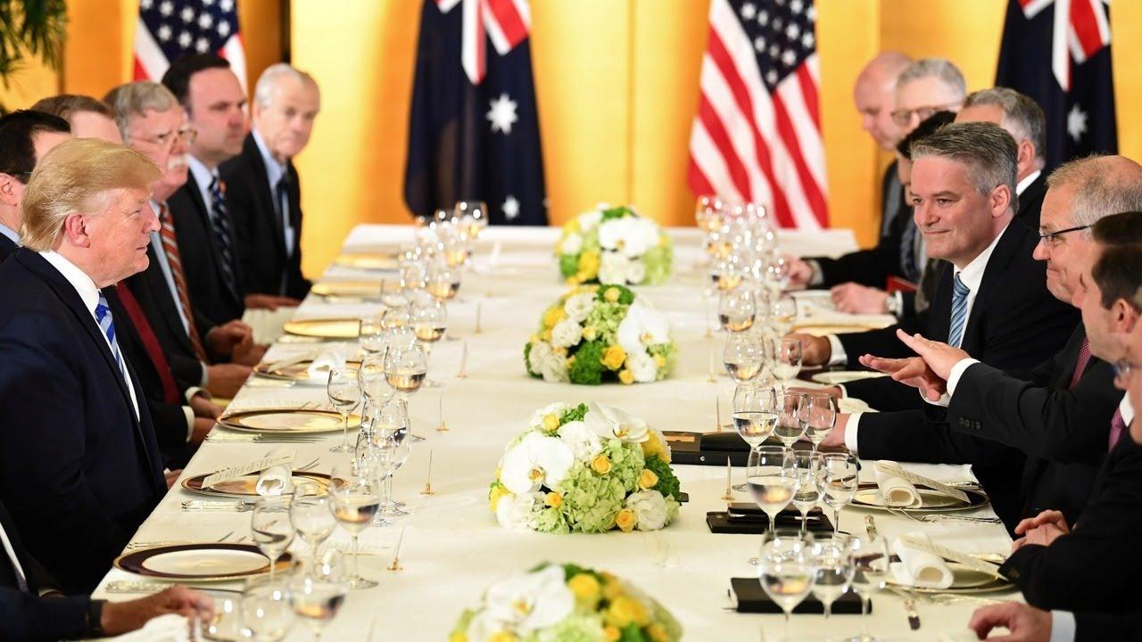 Sky News Australia Morrison meets Trump, Abe ahead of G20