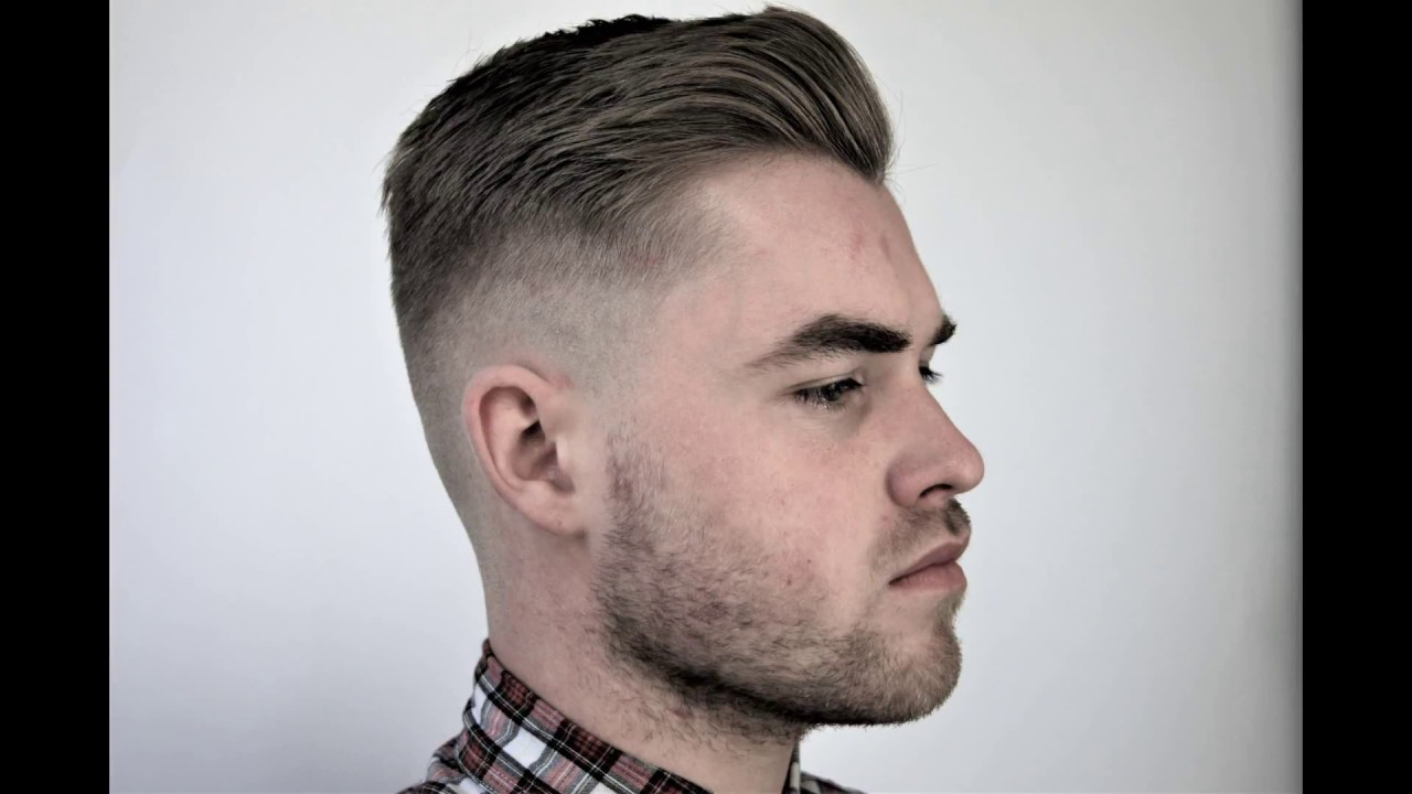 Skin Fade Done On Short Blonde Hair By Young Josh Stewart Training