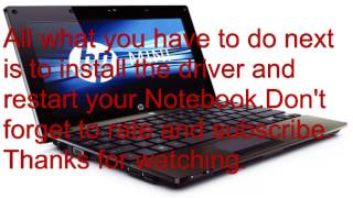 how to downoad hp drivers on windows 7 notebook