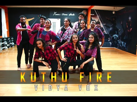 Kuthu Fire | Vidya Vox | Xavier's Dance...