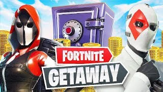 THE GETAWAY LTM ON FORTNITE w/ Noahsnoah & Theo