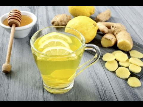 How to make Quick Weight loss Detox Tea with Ginger and Leman