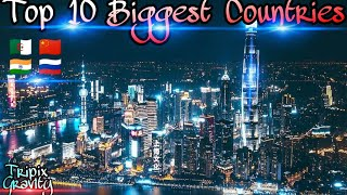 Top 10 Biggest Countries In The World (Area)✨