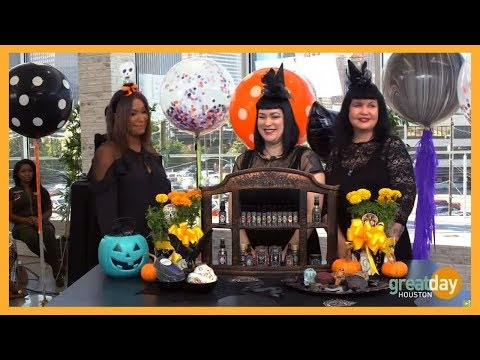 Real witches of Houston display spellbound potions