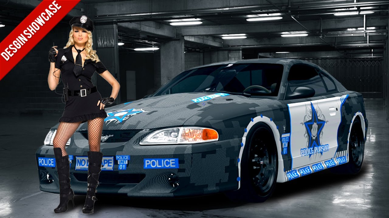 Ford Car Wallpaper Forza Horizon Design Showcase Police Unit 01 Youtube