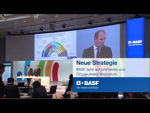 BASF präsentiert neue Unternehmensstrategie