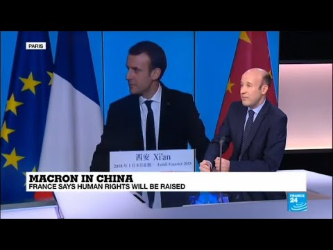"Macron in China: ""France is like the last-man-standing in Europe"""