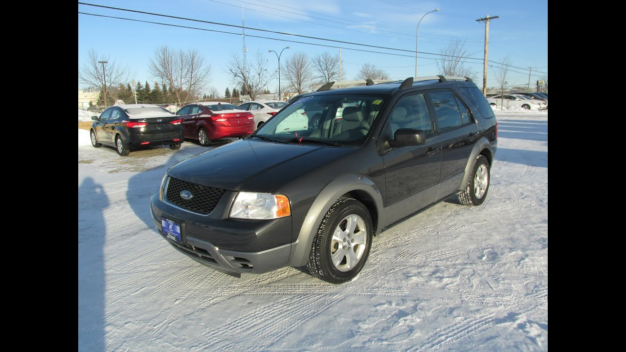 Ford Freestyle Sel Fwd Start Up Walkaround And