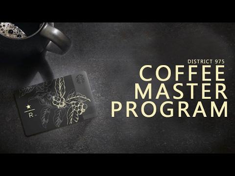 District 975 (Orange County, Ca) Coffee Master Program