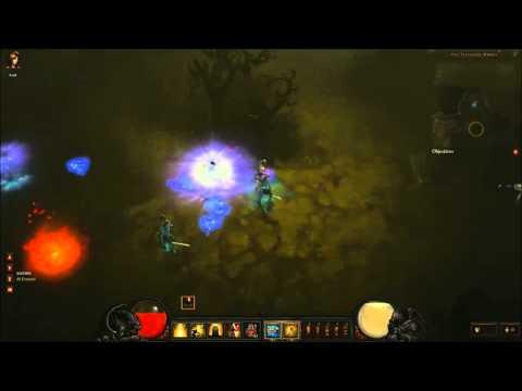 Diablo III - Hardcore vs Normal difficulty [BLIZZCON 2011]