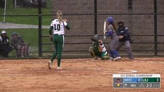 LIU Post Softball vs. NYIT Highlights (ECC Championship 2019)