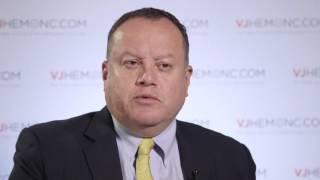 Transplant vs bortezomib and LEN/DEX in multiple myeloma