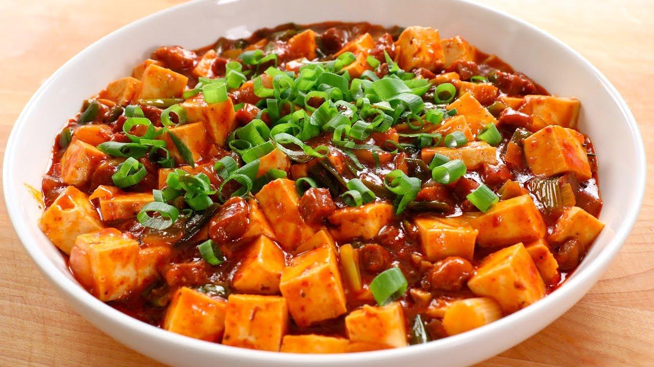 Korean-style mapo tofu (Mapadubu: 마파두부) recipe - Maangchi.com