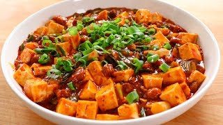 Korean-style Mapo Tofu (Mapadubu: 마파두부)