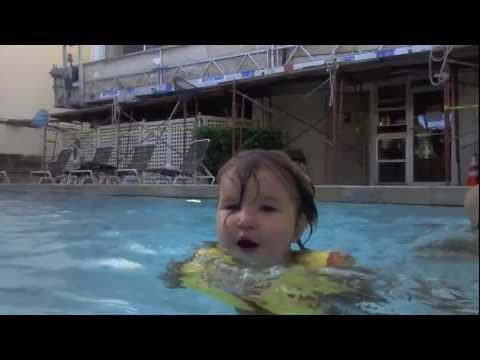 20 month old baby learning to swim youtube 3 month old baby swimming pool