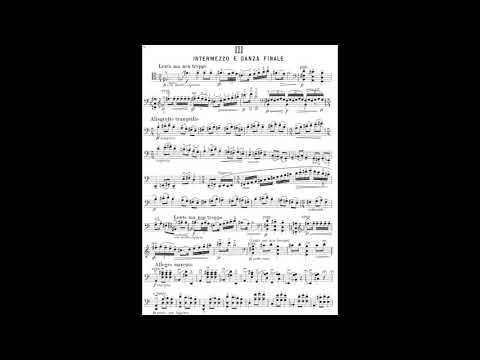 Gaspar Cassadó - Suite for Violoncello Solo (with score)