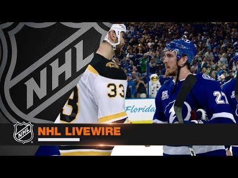 NHL LiveWire: Lightning mic'd up for series clincher vs. Bruins