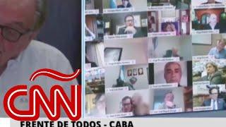 El escándalo del diputado Ameri no es el único bochorno virtual entre legisladores argentinos