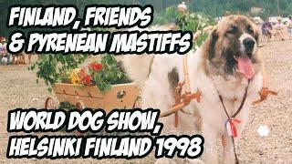 Finland, Friends & Pyrenean Mastiffs  World Dog Show, Helsinki Finland 1998