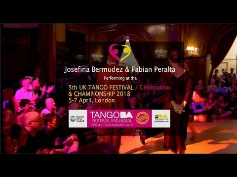 Josefina Bermudez & Fabian Peralta at the UK Tango Festival 2018