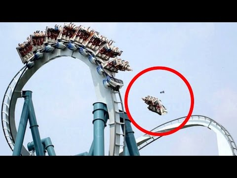Top 10 des ACCIDENTS dans les parcs d'attractions