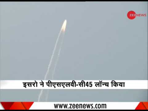 ISRO launches PSLV-C-45 Mission from Sriharikota