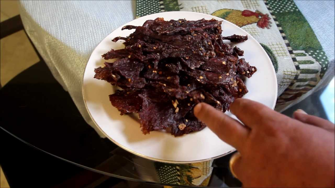 Beef jerky recipes thai flavor