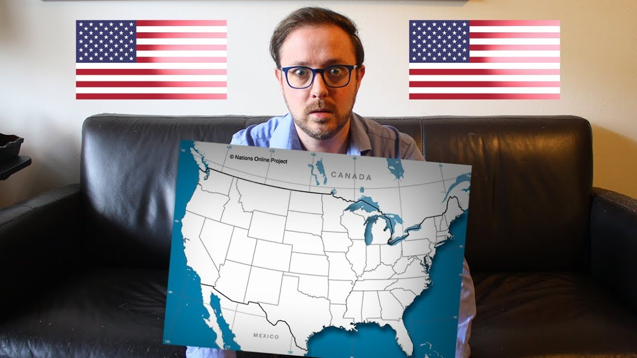 Finding the Fifty States on a Blank Map of America on blue nile state map, america red blue county map, blue 3d usa map,