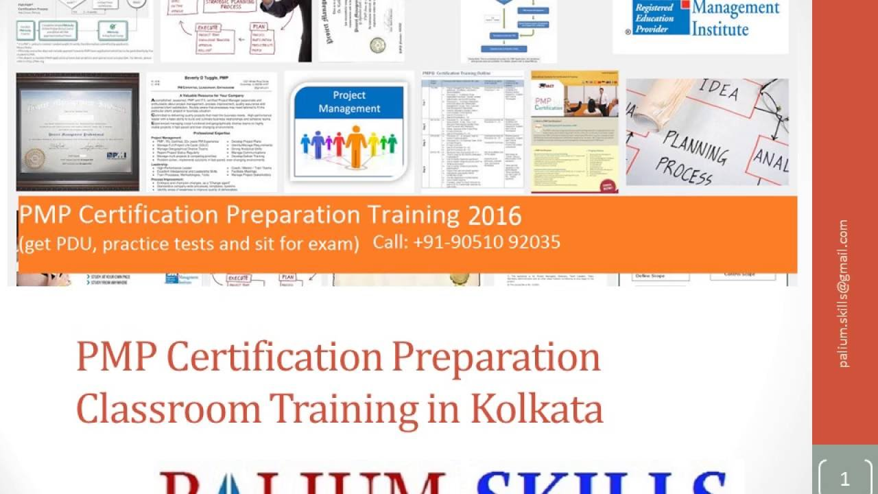 Pmp Certification Training Classroom Training In Kolkata Youtube