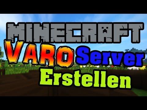 VARO Server Erstellen Minecraft Varo Plugin Map Einfach - Minecraft server welt erstellen
