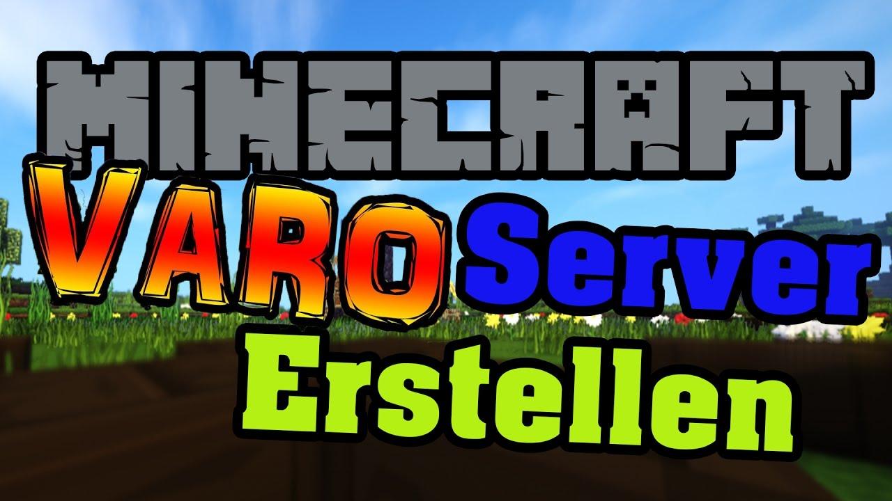VARO Server Erstellen Minecraft Varo Plugin Map Einfach - Minecraft varo spielen kostenlos