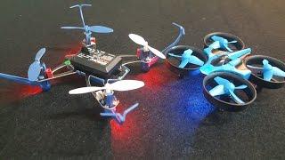 Đập 2 chiếc Quadcopter JJRC H36 Và UDIRC U32