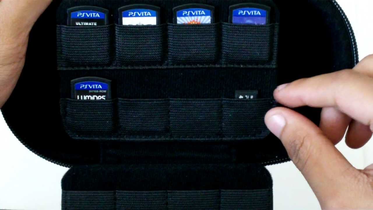 RDS Game Traveler Case Review + PS Vita Showcase