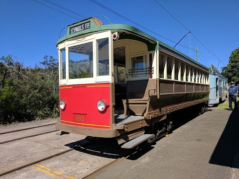 Back To Brisbane 2017 - Sydney Tramway Museum