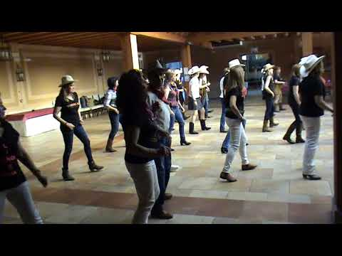 Country Line Dance -  ( Electric Slide ) El Coyote