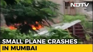 Chartered Plane Crashes Into Construction Site In Mumbai, 5 Dead