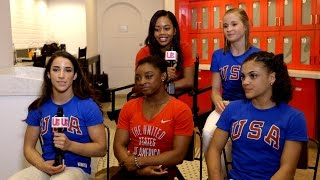 Rapid Fire With the Final Five Olympic Gymnasts!