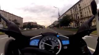 Маньяк по городу на Yamaha r1