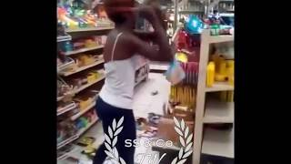 EBT Card Declined Women Destroys Gas Station Store  ( MUST WATCH )