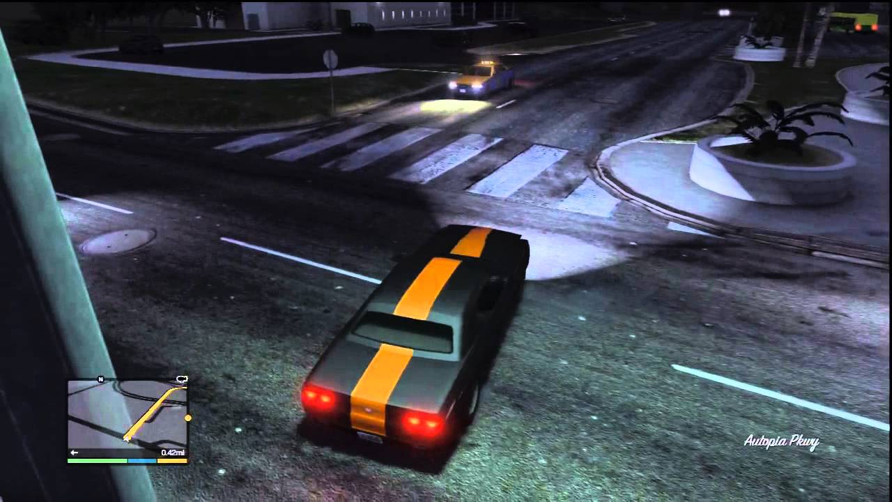 Grand Theft Auto V Gameplay Mission Row Getaway Car  YouTube