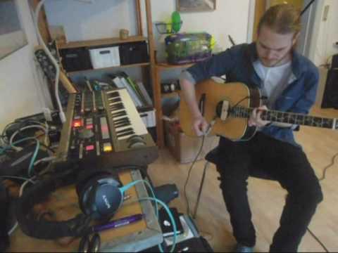 Alex Vargas - Solid Ground instrumental cover - live fra lejligheden