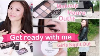 GET READY WITH ME Girls Night Out - Makeup, Haare, Outfit | Mamiseelen