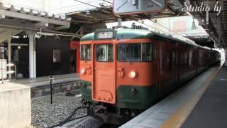 しなの鉄道115系湘南色塗装
