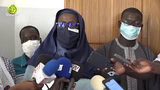 Dr Ndéye Maguette Diop Chef de district Sanitaire fait le bilan de la campagne Chimio Prévention.