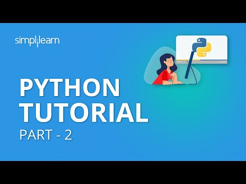 Python Tutorial Part - 2 | Python Tutorial For Beginners Part - 2 | Python Programming | Simplilearn thumbnail