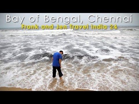Chennai (Madras), Bay of Bengal - Frank & Jen Travel India 24
