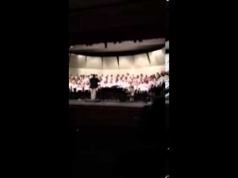 Maine District 1 Mixed Choir singing Keep Your Lamps